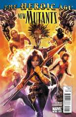 New Mutants (2009-2012) #15 Variant A