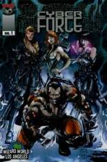 Cyberforce (2006) #1 Variant J: WWLA Exclusive VIP Cover