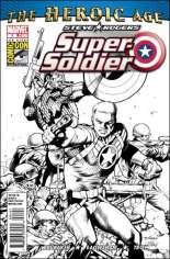 Steve Rogers: Super-Soldier (2010-2011) #1 Variant D: SDCC Exclusive