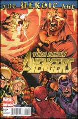 New Avengers (2010-2013) #1 Variant F: 2nd Printing