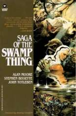 Saga of the Swamp Thing (1982-1984) #TP Vol 1 Variant B: Warner Books Edition
