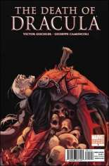 Death of Dracula (2010) #One-Shot Variant B: 2nd Printing