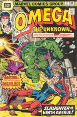 Omega the Unknown (1976-1977) #2 Variant B: 30 Cent Variant
