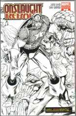 Onslaught Reborn (2007-2008) #1 Variant D: Jay Company Comics Sketch Variant