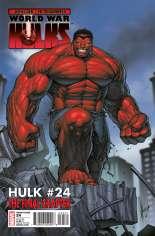Hulk (2008-2012) #24 Variant B: 1:15 Variant
