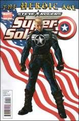 Steve Rogers: Super-Soldier (2010-2011) #1 Variant E: 2nd Printing