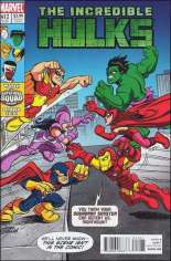 Incredible Hulks (2010-2011) #612 Variant B: Super Hero Squad Cover