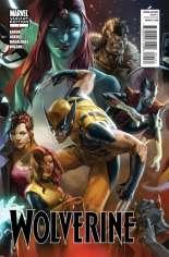 Wolverine (2010-2012) #1 Variant D: 1:60 Variant