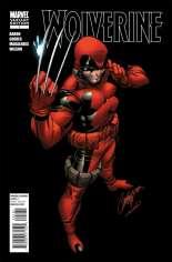 Wolverine (2010-2012) #1 Variant G: Deadpool Cover