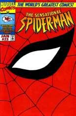 Sensational Spider-Man (1996-1998) #23 Variant C: Kansas City Chiefs Wraparound Cover