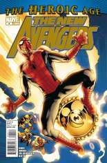 New Avengers (2010-2013) #4 Variant A