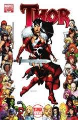 Thor (2007-2011) #614 Variant B: Women of Marvel Frame Cover