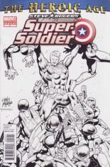 Steve Rogers: Super-Soldier (2010-2011) #2 Variant B: 2nd Printing