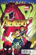 Avengers (2010-2012) #3 Variant C: 2nd Printing