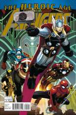 Avengers (2010-2012) #5 Variant A