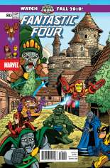 Fantastic Four (1998-2011) #583 Variant B: Super Hero Squad Cover