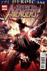 Secret Avengers (2010-2013) #3 Variant C: 2nd Printing