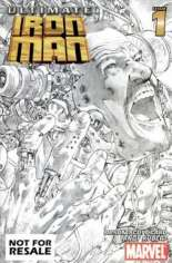 Ultimate Iron Man (2005-2006) #1 Variant E: Not For Resale Edition