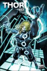 Thor (2007-2011) #617 Variant B: Tron Cover