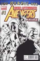 Avengers Prime (2010-2011) #1 Variant D: 3rd Printing