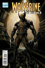 Wolverine: The Best There Is (2011-2012) #1 Variant C: 1:8 Variant