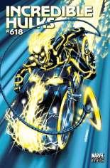 Incredible Hulks (2010-2011) #618 Variant B: Tron Cover