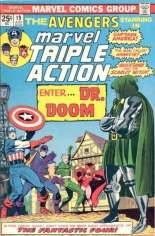 Marvel Triple Action (1972-1979) #19 Variant B: Mark Jeweler Advertisement Insert Variant