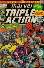 Marvel Triple Action (1972-1979) #10 Variant B: National Diamond Sales Advertisement Insert Variant