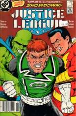 Justice League (1987) #5 Variant A: Newsstand Edition