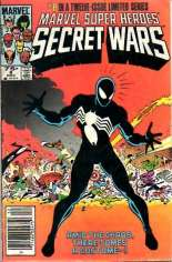 Marvel Super-Heroes Secret Wars (1984-1985) #8 Variant A: Newsstand Edition