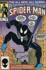 Spectacular Spider-Man (1976-1998) #107 Variant B: Direct Edition