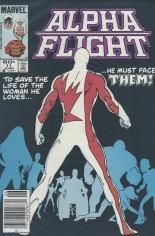 Alpha Flight (1983-1994) #11 Variant A: Newsstand Edition