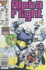 Alpha Flight (1983-1994) #36 Variant A: Newsstand Edition