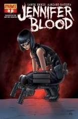 Jennifer Blood (2011-2014) #1 Variant C: 1:15 Variant