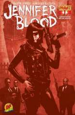 Jennifer Blood (2011-2014) #1 Variant I: DF Exclusive Blood Red Cover; Limited to 550 Copies