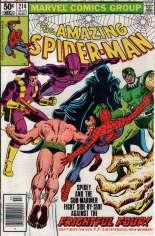 Amazing Spider-Man (1963-1998) #214 Variant A: Newsstand Edition