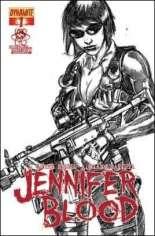 Jennifer Blood (2011-2014) #1 Variant J: Larry's Comics Exclusive Sketch Cover