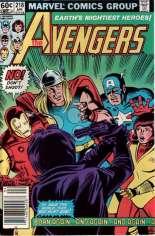 Avengers (1963-1996) #218 Variant A: Newsstand Edition