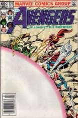 Avengers (1963-1996) #233 Variant A: Newsstand Edition