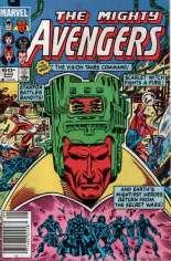 Avengers (1963-1996) #243 Variant A: Newsstand Edition