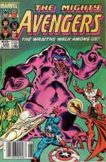 Avengers (1963-1996) #244 Variant A: Newsstand Edition