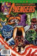 Avengers (1998-2004) #43 Variant A: Newsstand Edition; Alternately Numbered #458