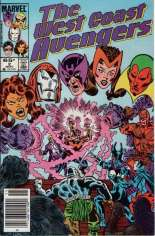 West Coast Avengers (1985-1989) #2 Variant A: Newsstand Edition