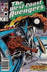 West Coast Avengers (1985-1989) #29 Variant A: Newsstand Edition