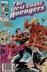 West Coast Avengers (1985-1989) #36 Variant A: Newsstand Edition