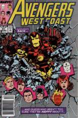 Avengers West Coast (1989-1994) #51 Variant A: Newsstand Edition