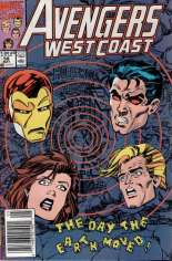 Avengers West Coast (1989-1994) #58 Variant A: Newsstand Edition