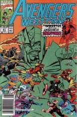 Avengers West Coast (1989-1994) #61 Variant A: Newsstand Edition