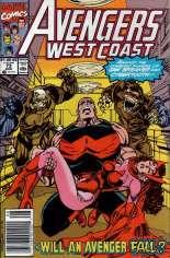 Avengers West Coast (1989-1994) #73 Variant A: Newsstand Edition