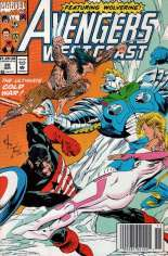 Avengers West Coast (1989-1994) #88 Variant A: Newsstand Edition